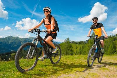 Fahrradfahren E-Bike