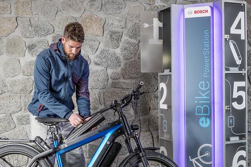 Bosch eBike Ladestationen