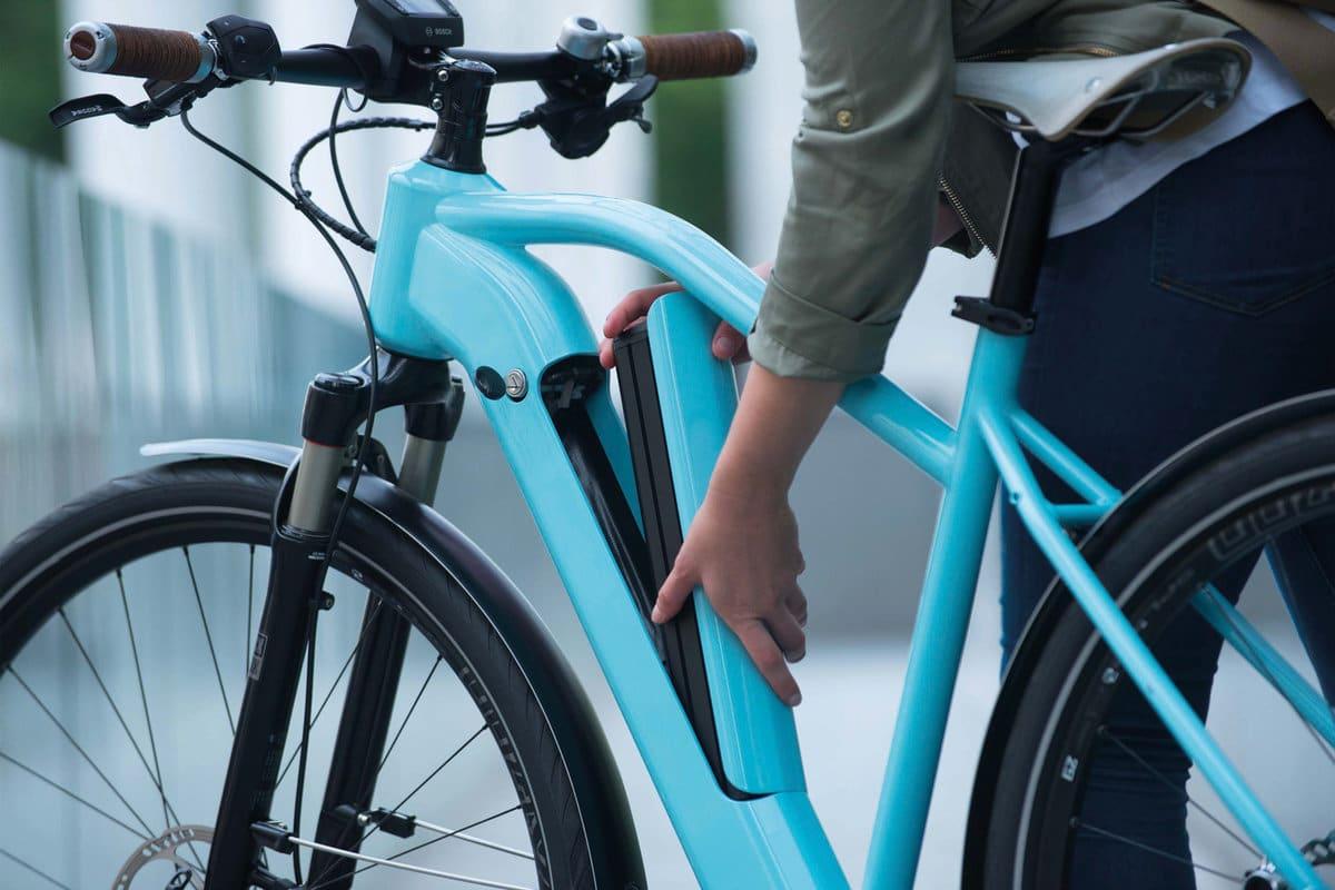 Lagerung Akku E-Bike