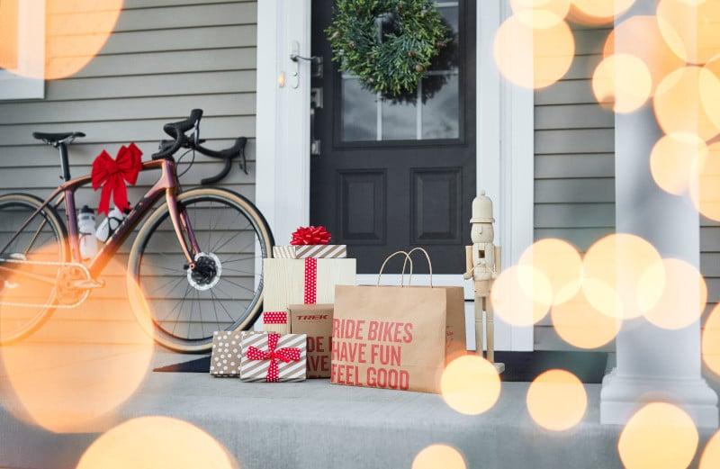 Weihnachten Fahrrad