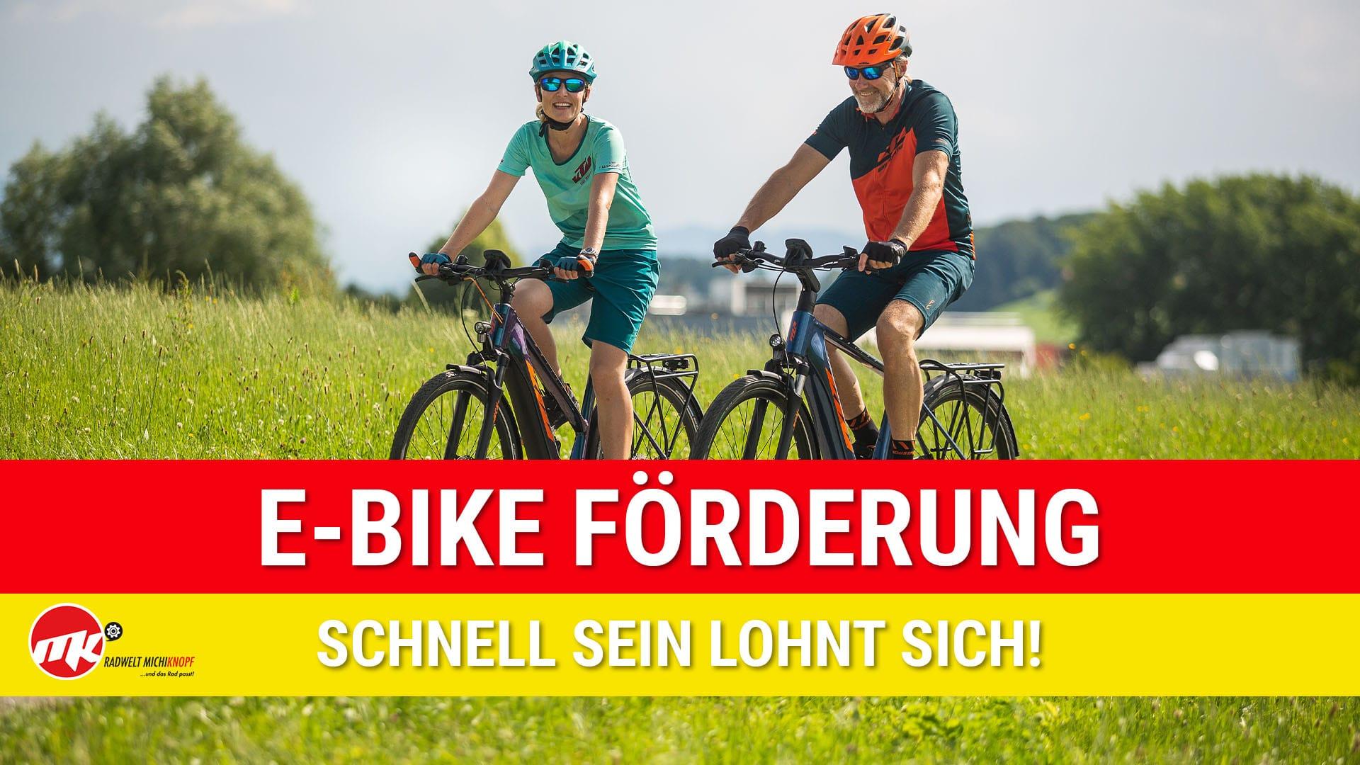E Bike Förderung 2021 Burgenland
